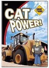 CAT Power! DVD Trucks, bulldozers, dump, machines Kids power catepillar TM video