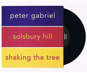 """PETER GABRIEL Solsbury Hill UK 7"""" Virgin 1990' Clean Vinyl Tidy copy Genesis"""