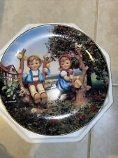 mjhummel plate Apple Tree BoynGirl By Danbury Mint. Makes A Great ShootingTarget