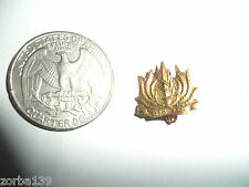 Idf Zahal Navy Naval OBSOLETE Golden Badge Israel Army Old 50's-60's PIN CLOSURE
