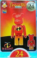 Disney X Pixar Christmas Party 2013 Bearbrick 100%  No.24 Incredibles Medicom