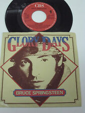 "BRUCE SPRINGSTEEN Glory Days -1985 PORTUGAL 7"" single -  RARE"