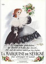 Publicité ancienne chocolats la marquise de 1949 issue de magazine