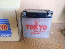 NOS Vintage 12V Honda Tokyo Battery 12N9-4B-1 CB200 CJ360 CB400 Kawi J1 A100