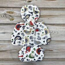 Birds Cotton Handmade Newborn Insert in mamaRoo rockaRoo 4moms Infant Seat