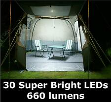 NEW 12v LED Awning Light Set. For Tent, Caravan, Camper, Motorhome - 660 lumen.