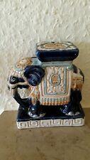 Elephant aus Keramik.Aus Indien. ?  11 cm.hoch.