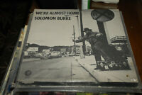 Solomon Burke We're Almost Home Sealed 1st press MGM southern soul