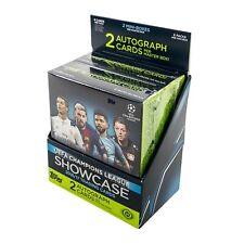 2016/17 Topps Champions League Soccer Hobby Box - 2 Auto per box guaranteed.