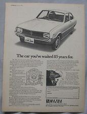 1970 Mazda R.100 Coupe Original advert