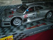 Mercedes CLK GTR #10 Zannini-Tiemann Warsteiner 1997 1/18 Maisto 38848 Neuf Boit