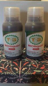 2 bottles biotiquin supplement (regular) Jaime Maussan biomaussan mega/especial