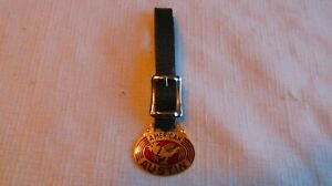 Vintage Porcelain Inlay American Austin Advertising Watch Fob