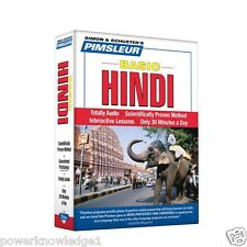 New 5 Cd Pimsleur Learn to Speak Basic Hindi Language