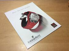 Used - Booklet AUDEMARS PIGUET Royal Oak Lady Alinghi - Español - For Collectors