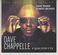 2018 EMMY FYC DVD DAVE CHAPPELLE EQUANIMITRY LIVE STANDUP COMEDY SPECIAL NETFLIX