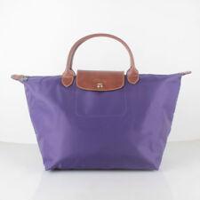 Authentic Longchamp Le Pliage Medium Handbag Bag Amethyst 1623089958