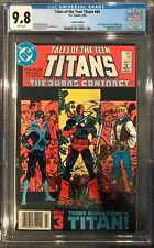 Tales of the Teen Titans #44 CGC 9.8 ~CANADIAN VARIANT~KEY ISSUE!L@@K!