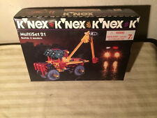 K'nex Multiset 21 Sealed in box 1995 KNEX Trucking Co. - 10802 MS21