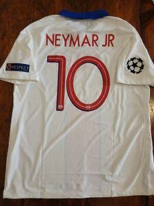 2020/21 Nike Paris Saint-Germain #10 Neymar Jr Vapor Match Away Soccer Jersey