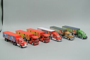 Matchbox Diecast Truck Lot of 6 Coca-Cola Chinese Import Calendar Girls 1998 EX!