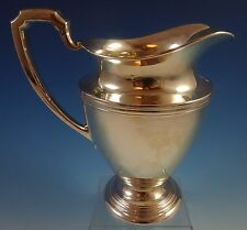 International Sterling Silver Water Pitcher #E28 4 Pint (#1289)