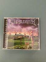 Megadeth – Youthanasia CD 1994 USA Press VERY RARE NM!!