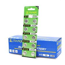 10pcs AG10 LR1130 389 LR54 L1131 189 Alkaline Button Coin Cell Battery Suncom