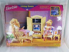 Mattel 1996 #67553-91 Barbie Living Room Folding pretty house NRFB