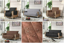 Throw Sofa Arm Chair Settee Pet Protector Slip Cover Furniture Throws Seat 3 2