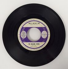 "The Rolling Stones TIME IS ON MY SIDE London 45-LON-9708V 7"" Single 45 RPM vinyl"