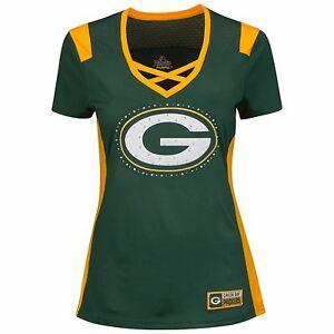 Green Bay Packers NFL Women's Draft Me Jersey By Majestic