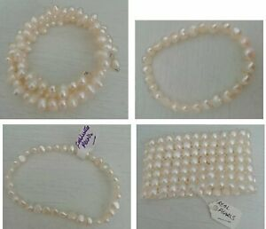 Freshwater pearl bracelets (six styles to choose from)