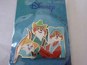 Disney Trading Pins Artland UK Robin Hood Cut Out