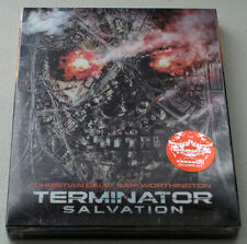 TERMINATOR SALVATION (Blu-ray) Lenticular STEELBOOK / 1,500 copies / Region A