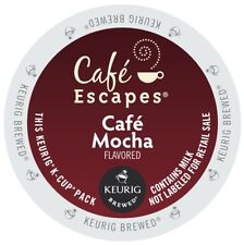 Cafe Escapes Cafe Mocha 24 to 144 Keurig K cups Pick Any Size FREE SHIPPING