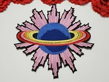 Planet patch, UFO patch,  Large patch,  Iron on
