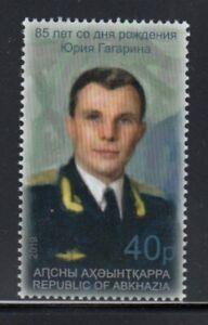 ABKHAZIA Yuri Gagarin, Cosmonaut MNH stamp