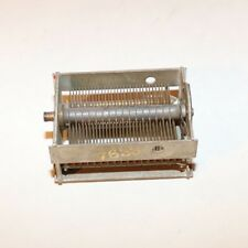 Radio Tuning Air Variable Capacitor - Brass Fins - 7633 / 7324