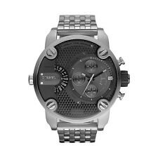 Diesel DZ7259 Men's Little Daddy GunMetal Stainless Steel Chronograph Watch