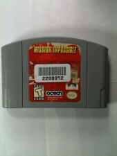 Mission Impossible N64 Cartridge Only Ocean Rated Teen Spy Retro Video Gaming