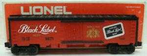Lionel 6-9871 Black Label Beer Billboard Reefer Car EX/Box