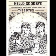 Beatles - Hello Goodbye - 1967 Vintage Sheet Music Lot 44