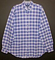 Polo Ralph Lauren Big & Tall Mens 2XB Blue Red Plaid Button-Front Shirt NWT 2XB