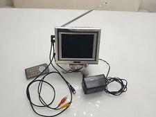 Clarion LCD Digital Monitor tragbarer TV Color Fernseher Video Fernsehgerät Top