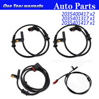 For Mercedes-Benz C-CLASS W203 Front Rear Left Right ABS Wheel Speed Sensor