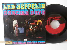 "led zeppelin""dancing days""single7""or.fr.atlantic:10328 de 1973.rare"