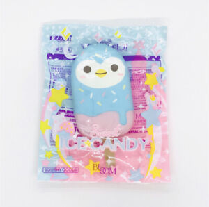 Ibloom Squishy Penguin Sweet Ice Candy Popsicle Squishy Squeeze NEW