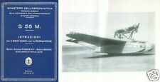 Savoia-Marchetti S.55 FLYING BOAT MAINTENANCE MANUAL RARE ARCHIVE