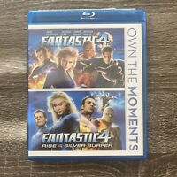 Fantastic Four/Fantastic Four: Rise of the Silver Surfer (Blu-ray Disc, 2012)
